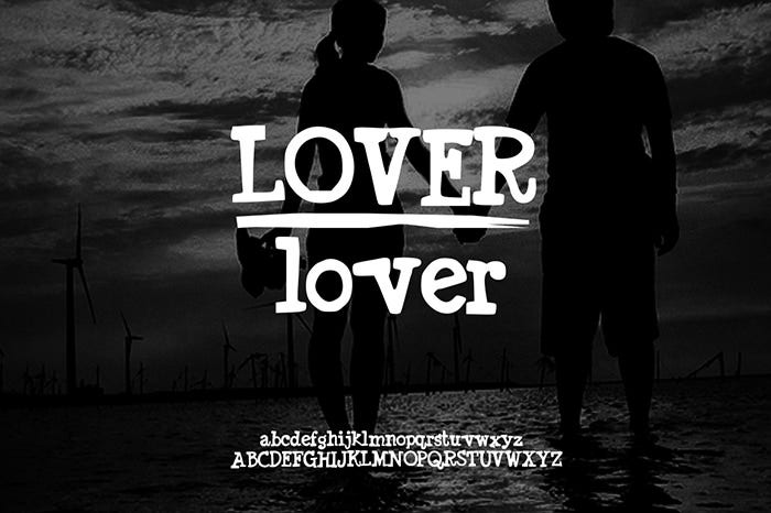 Lover Font