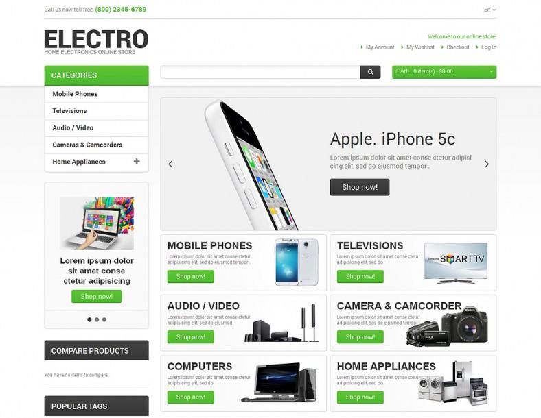 magento theme for electro appliances 788x610