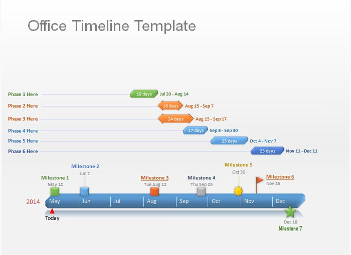 marketing plan timeline template 2