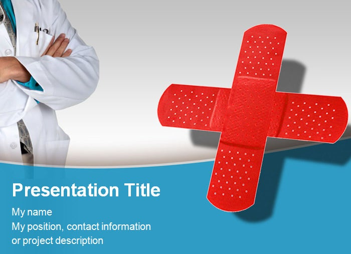 Medical powerpoint template powerpoint templates free premium medical center powerpoint template maxwellsz