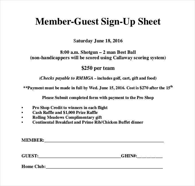 member-guest-sign-up-sheet