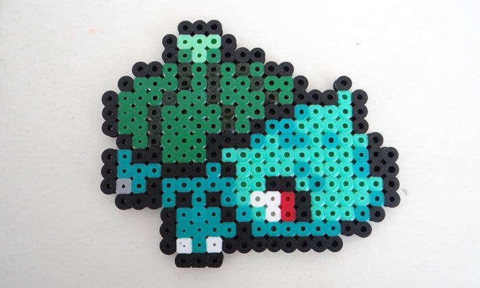 minecraft bulbasaur pixel art free template1