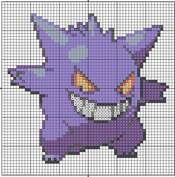 Minecraft-Planner-Template1 Pixel Art Minecraft Pokemon @koolgadgetz.com.info