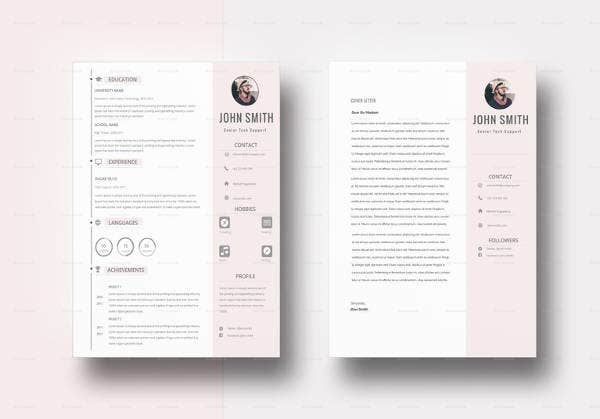 modern bpo resume template in word
