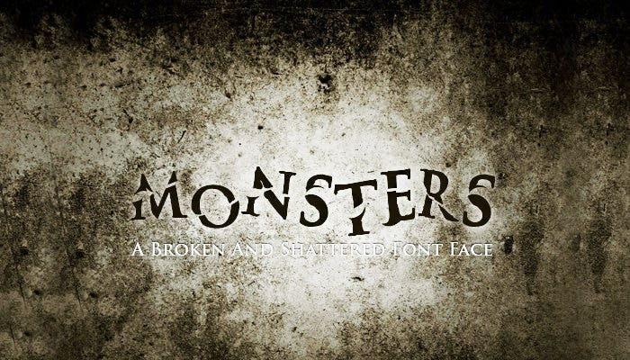 Monsters Font