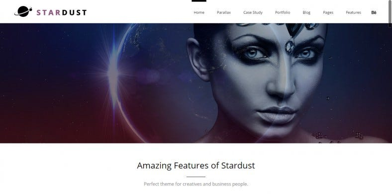 Multi-Purpose Parallax Scrolling WordPress Theme