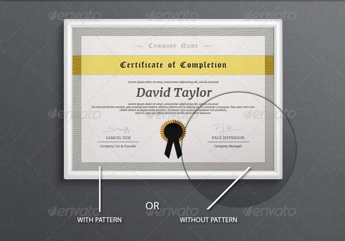 multipurpose certificate templates