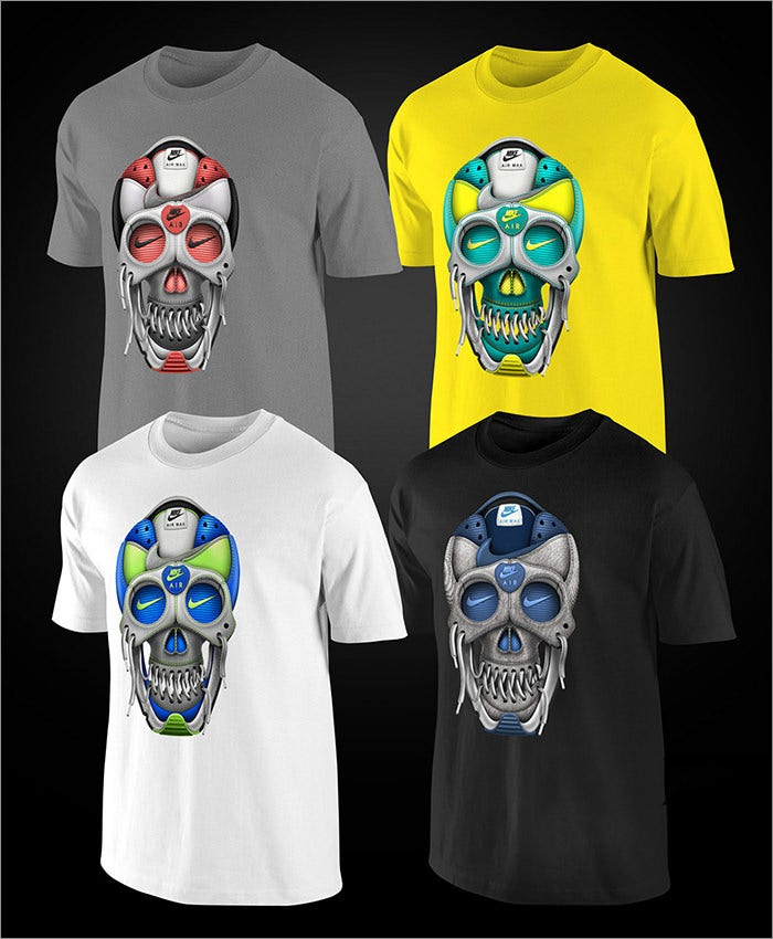 40 T Shirt Designs Creative Ideas Free Premium