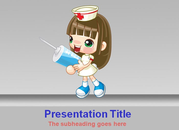 medical powerpoint template - powerpoint templates | free, Modern powerpoint