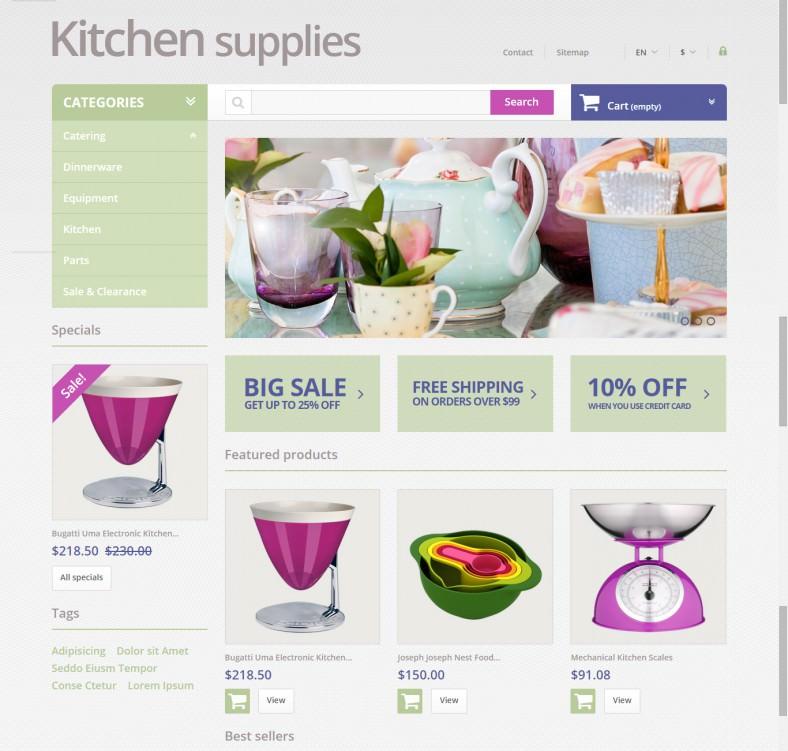 Online Grocery Store PrestaShop Theme