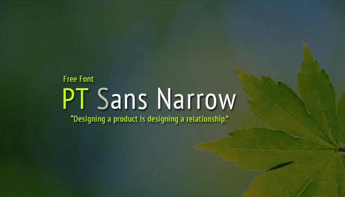 pt sans narrow1
