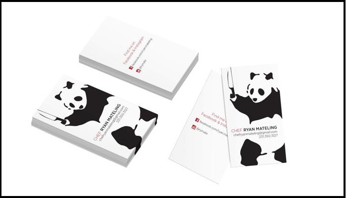 Panda Chef Business Card