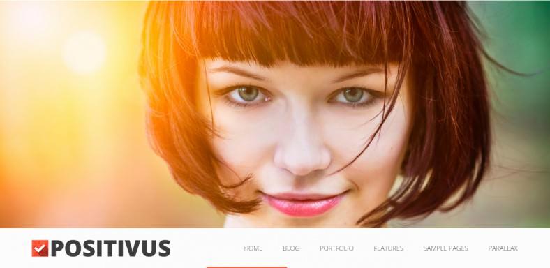 Parallax BlogPortfolio Wordpress Theme