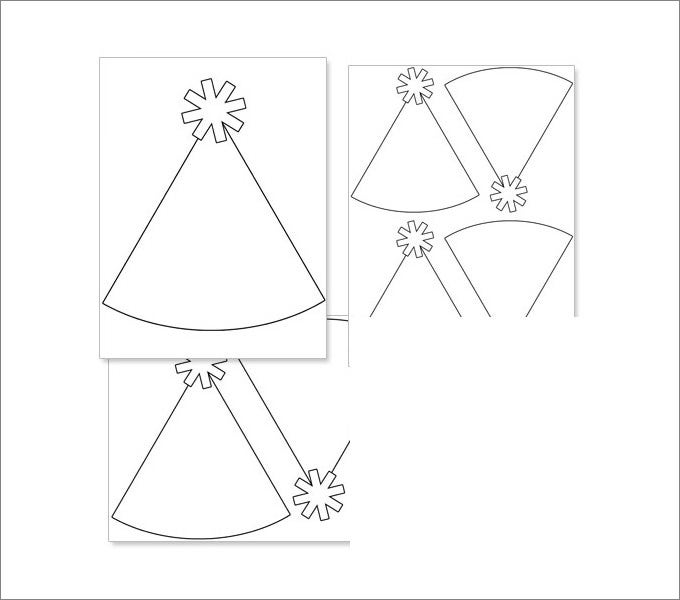 image about Party Hat Template Printable named Social gathering Hats, Occasion Hat Template Free of charge Quality Templates