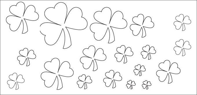 image relating to Shamrock Template Printable Free identify 20+ Least complicated Shamrock Templates No cost High quality Templates