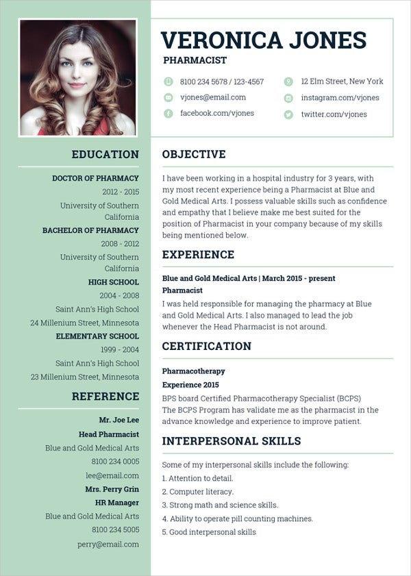 Best College Graduate Resume Template