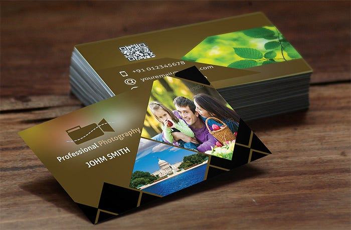 52  photography business cards free download