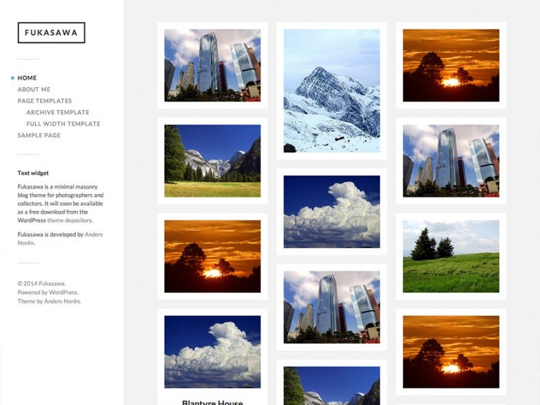free photography website templates - 12 free photography website templates themes