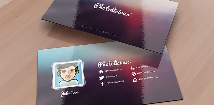 52 photography business cards free download free premium templates photolicious photographer card fbccfo Choice Image