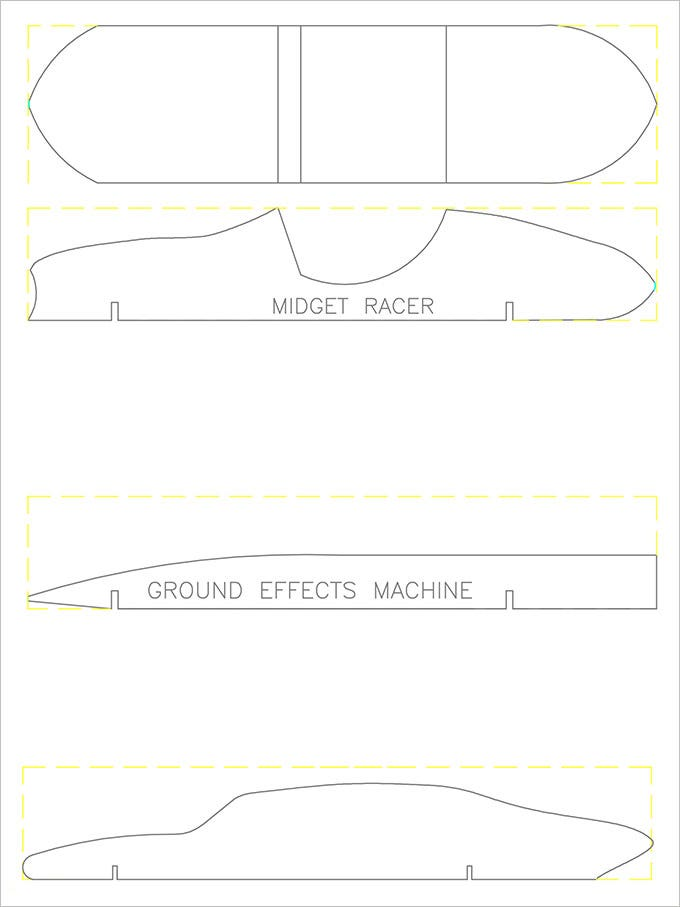 pinewood car derby templates