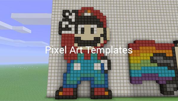 30 Pixel Art Templates Free Premium Templates