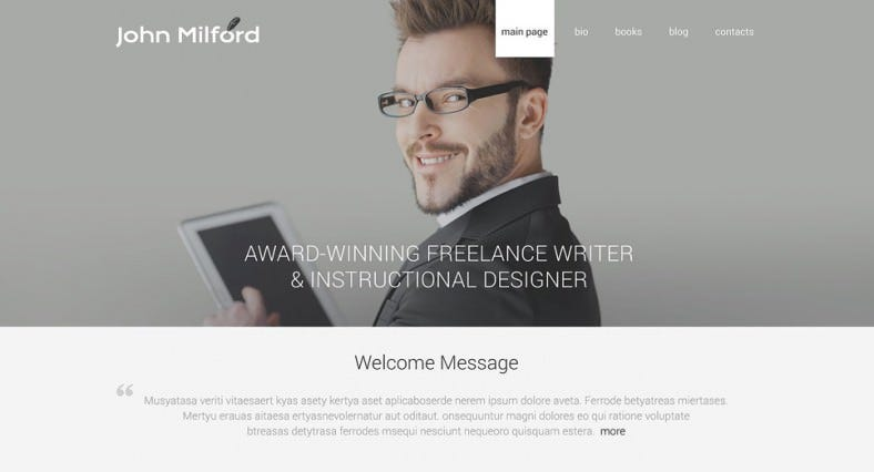 Website Welcome Message Template. 10 examples of highly effective ...
