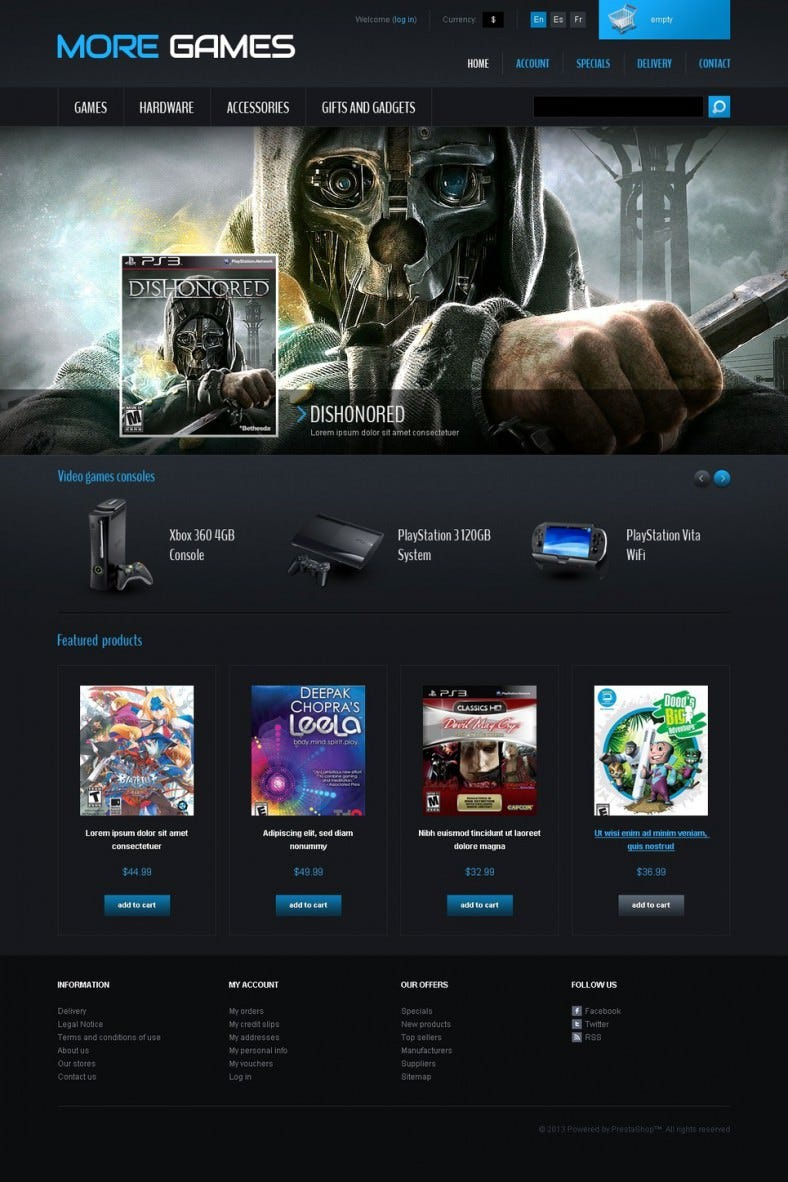 prestashop template for games 788x1182