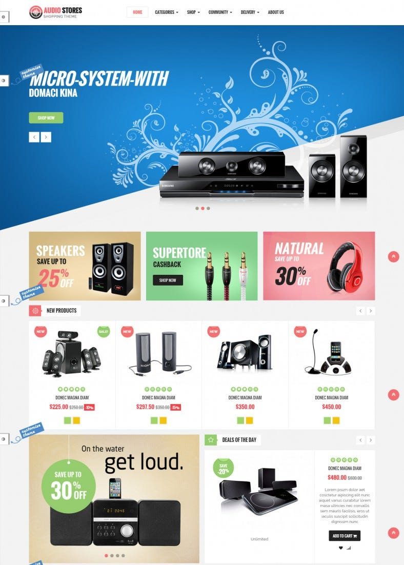 prestashop responsive theme for audio shop 788x1102