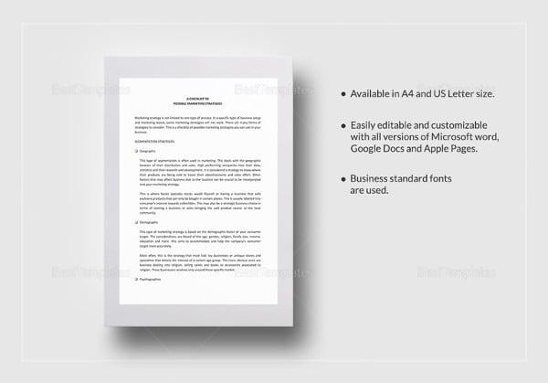 printable-marketing-strategies-checklist