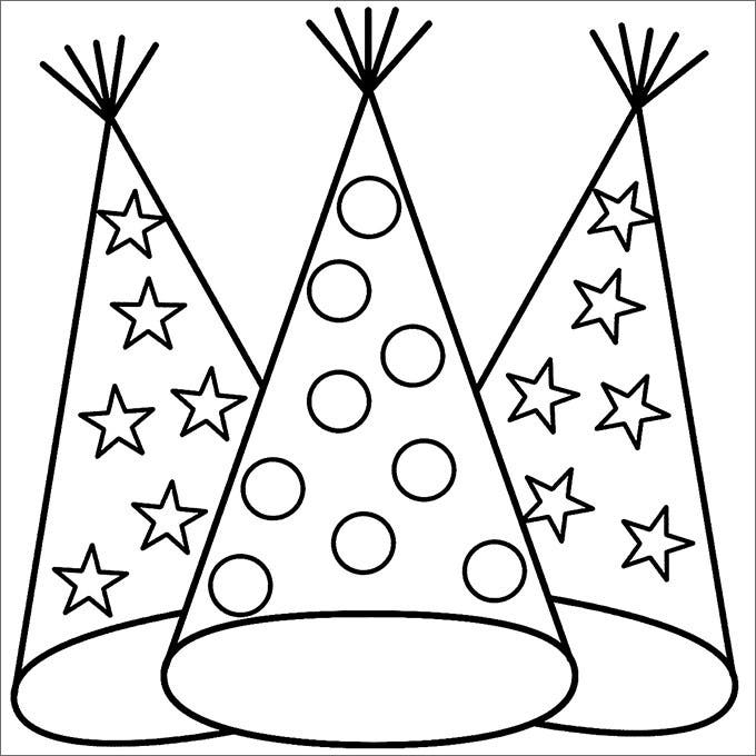 Party Hats Party Hat Template – Party Hat Template