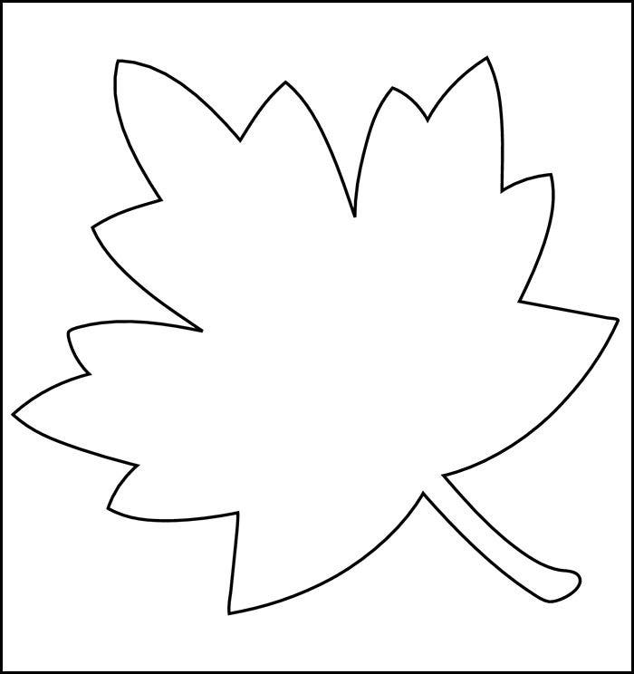 Crazy image with printable leaf