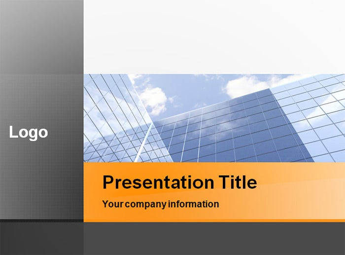 professional business office powerpoint template