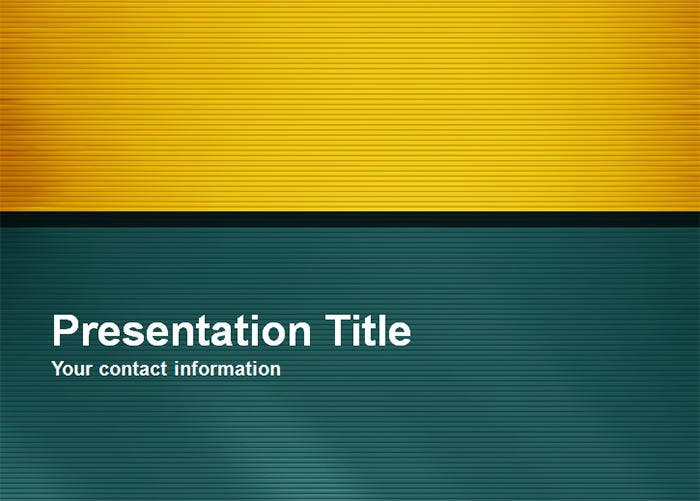 professional green powerpoint template