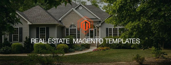real estate magento templates