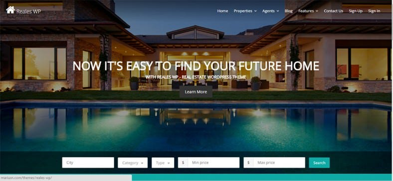 real estate wordpress theme1 788x364