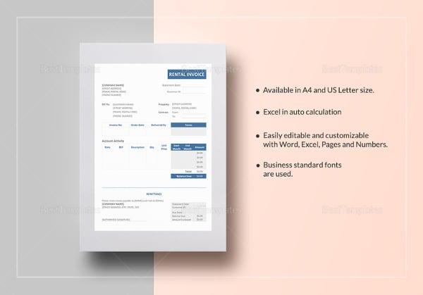 rental-invoice