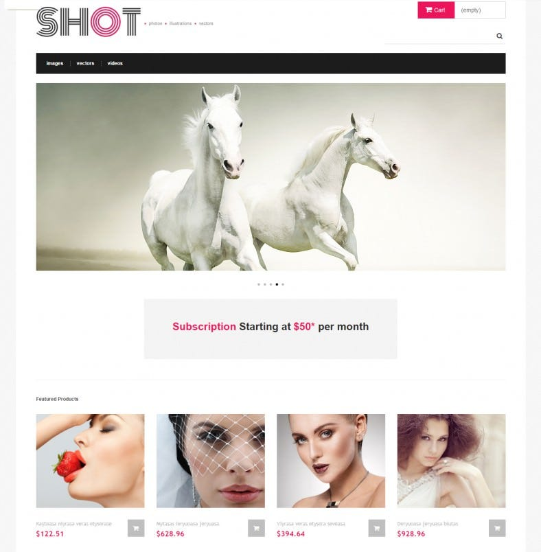 Responsive Design PrestaShop Theme