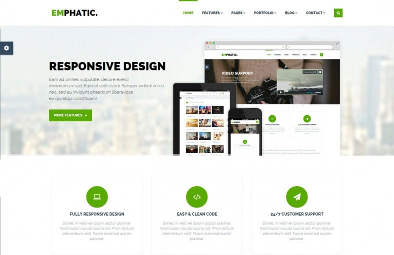 Bootstrap Template | 17 Best Bootstrap Html Website Templates Themes Free Premium