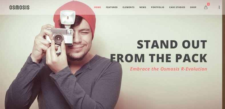 Responsive Multi-Purpose Parallax Theme