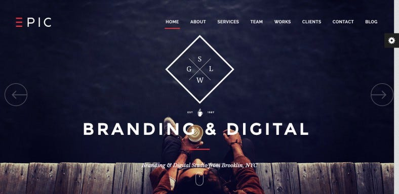 responsive one page parallax wordpress theme 788x384