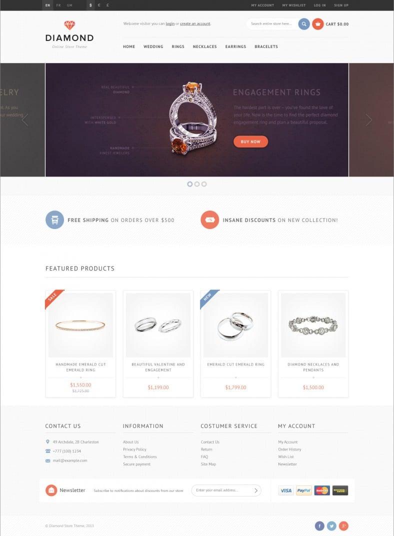 responsive opencart theme for diamond store 788x1072
