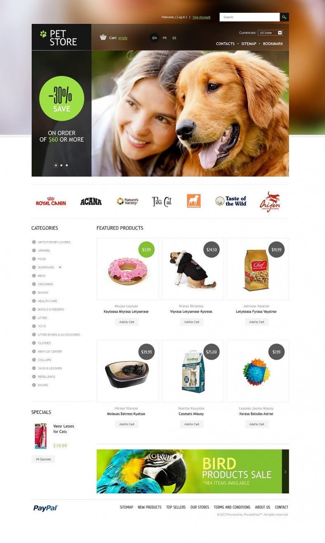 responsive premium pet store prestashop template 788x1315