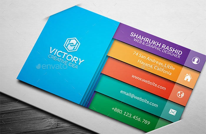 Retkory 3D Creative Business Card