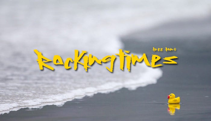 rocking times font