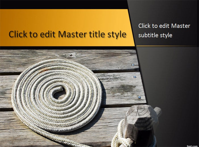 rope powerpoint template