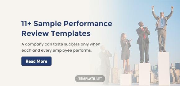 sampleperformancereviewtemplates