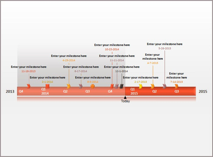Free timeline template simple timeline template traffic cones for 24 timeline powerpoint templates free ppt documents download toneelgroepblik Gallery