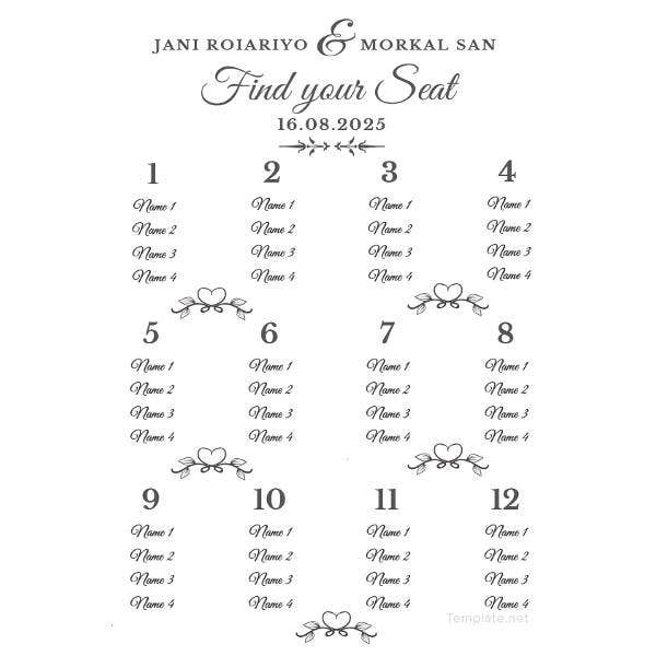sample-wedding-seating-chart-template