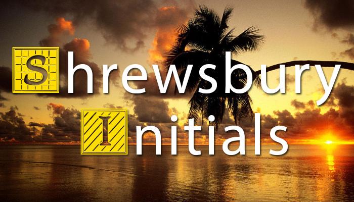 Shrewsbury Initials