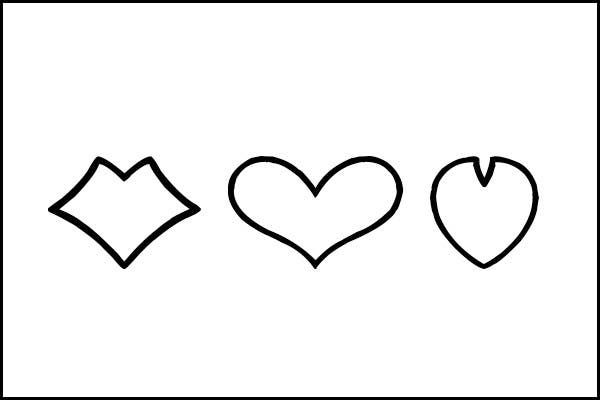 Simple Heart Free Template